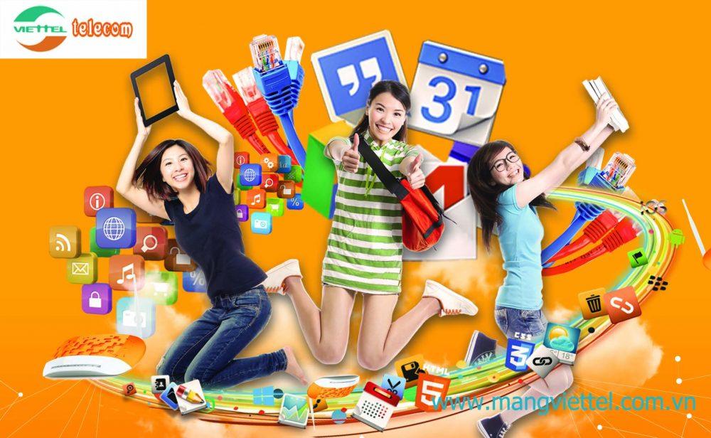 Khuyến mãi lắp mạng Viettel cực chất từ internet Viettel