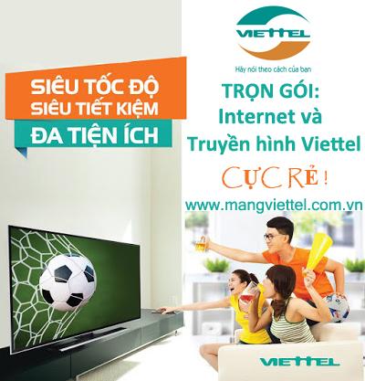 Truyền hình cáp Viettel giá rẻ