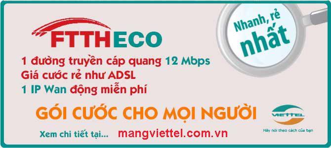 Khuyến mại lắp mạng Viettel tháng 2/2015
