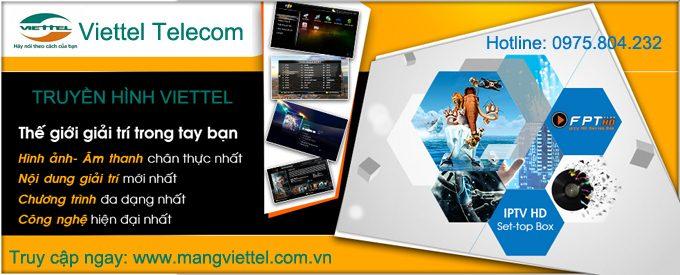 Khuyến mại lắp mạng Viettel tháng 5/2015
