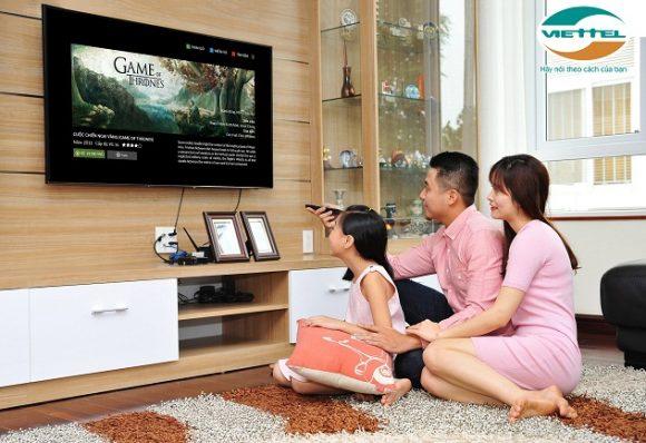 Cáp quang Viettel và truyền hình