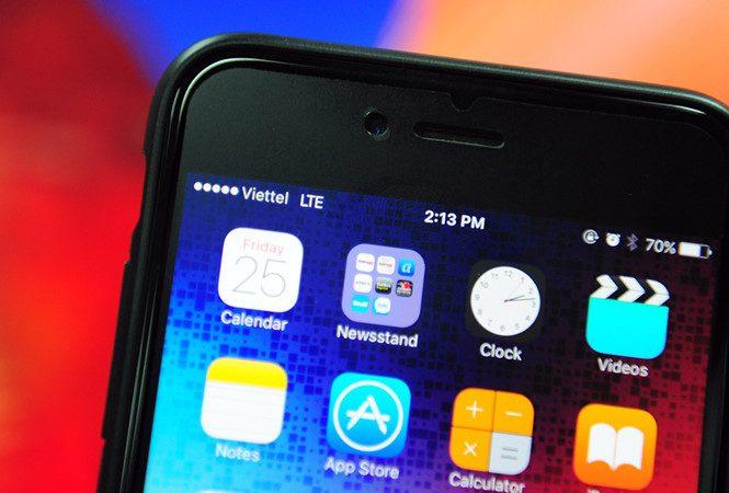 Người dùng iPhone mạng Viettel đã có thể sử dụng 4G