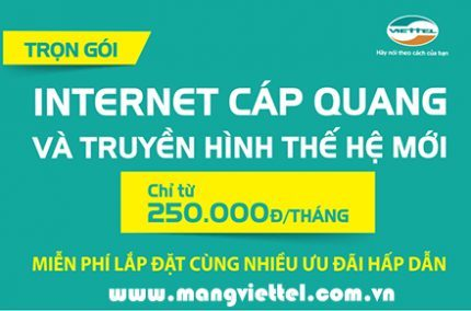 Lắp mạng Viettel tại Biên Hòa