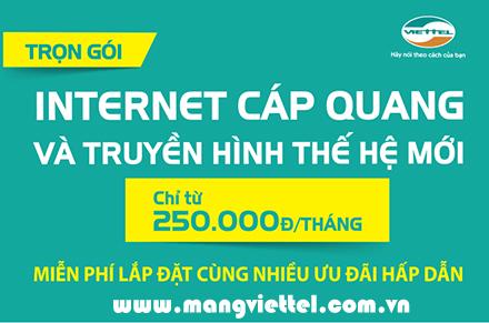 Lắp mạng Viettel tháng 6 – 2016 khuyến mãi giá rẻ ưu đãi
