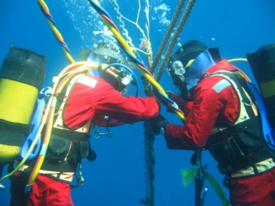 Bảo trì cáp quang biển AAG sau 5 ngày