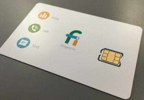 Thẻ SIM đặc biệt của Project Fi của Google