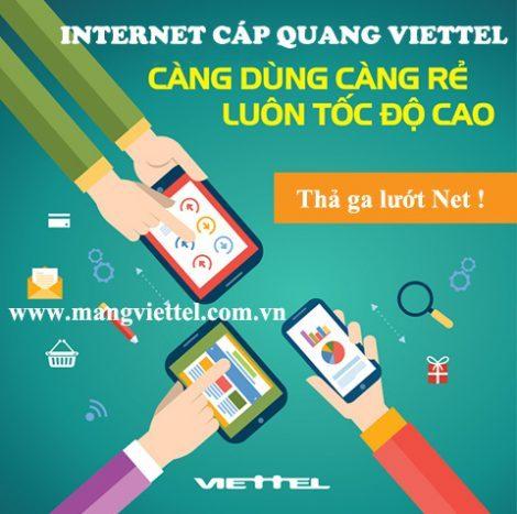 Viettel tiếp tục cập nhật khuyến mãi internet Viettel tháng 11 - 2016