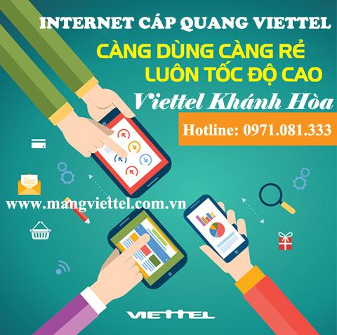 Lắp mạng Viettel tại Nha Trang