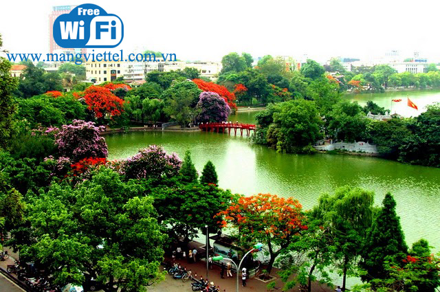 Chuẩn bị phủ sóng wifi miễn phí tại Hà Nội trong thời gian sắp tới