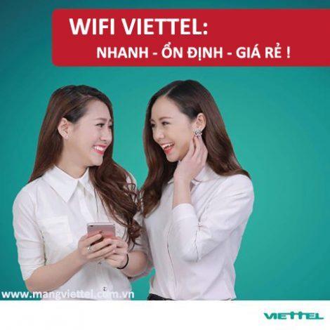 Hướng dẫn test wifi Viettel, test wifi speed online của internet Viettel