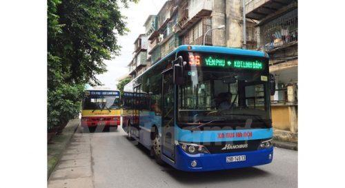 Hà Nội đưa loạt xe bus có wifi miễn phí vào hoạt động