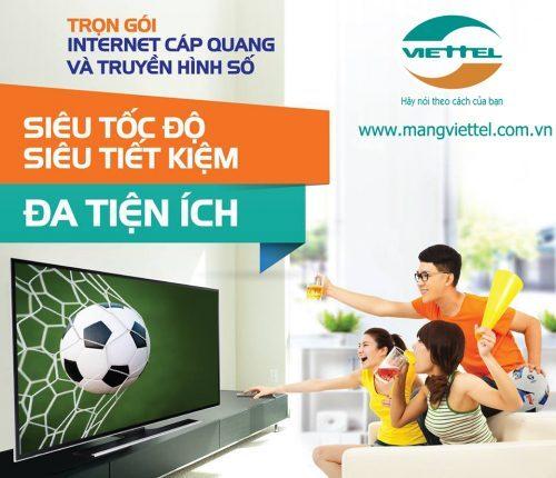 Khuyến mãi lắp mạng Viettel tháng 12 - 2016 ưu đãi lớn miễn phí