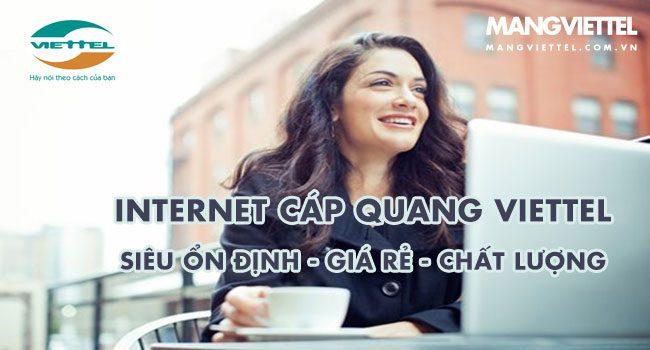 Cáp quang Viettel phường Trung Văn Nam Từ Liêm chỉ từ 220k/ tháng