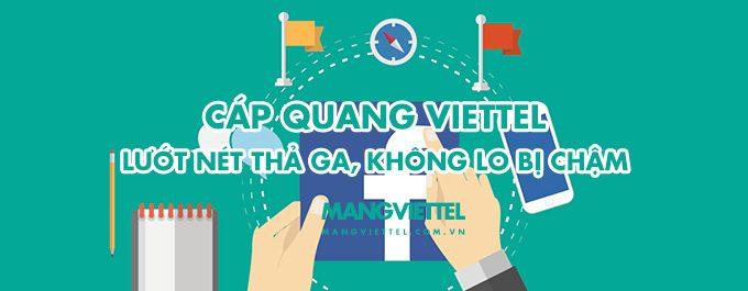 Khuyến mãi hot khi lắp cáp quang Viettel tháng 7 - 2017 mới