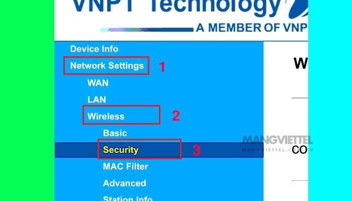 Cách đổi pass modem wifi VNPT