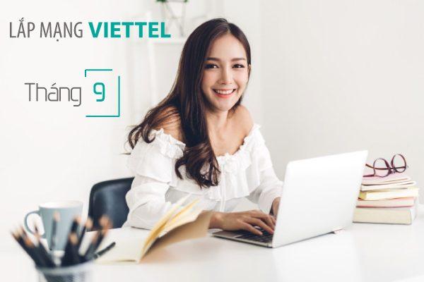 Lắp mạng wifi internet cáp quang Viettel khuyến mãi tháng 9/2020