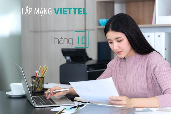 Lắp mạng wifi internet cáp quang Viettel khuyến mãi tháng 10/2020