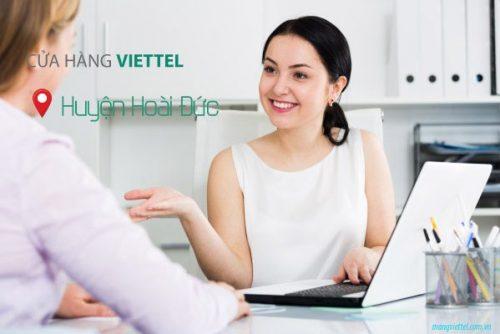 Cửa hàng Viettel tại huyện Hoài Đức