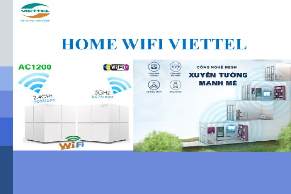 Home Wifi Viettel - Báo Giá Lắp Mạng Viettel Internet Cáp Quang 2020