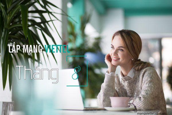 Lắp mạng wifi internet cáp quang Viettel khuyến mãi tháng 8/2020