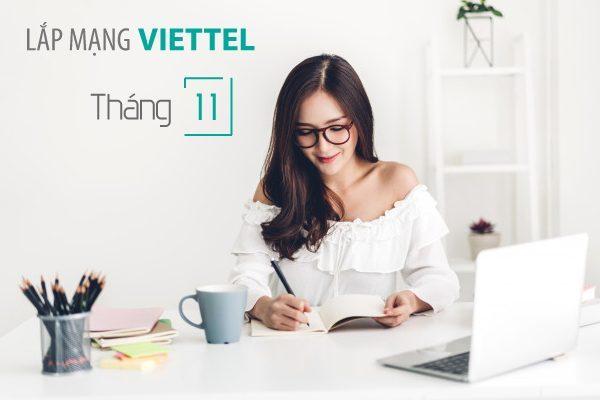 Lắp mạng wifi internet cáp quang Viettel khuyến mãi tháng 11/2020