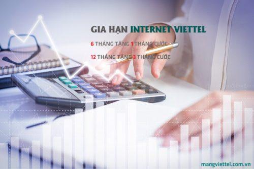 Gia Hạn Cước Internet và Truyền Hình Viettel