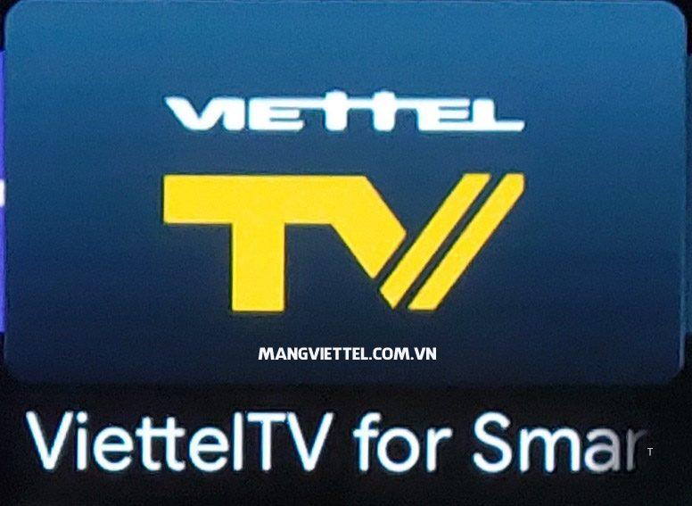 Truyền hình OTT trả sau xem bằng ứng dụng Viettel TV trên SmartTV