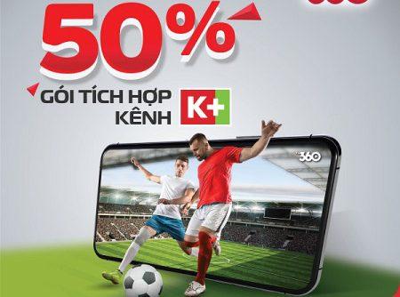 TV360 - Tích hợp kênh K+