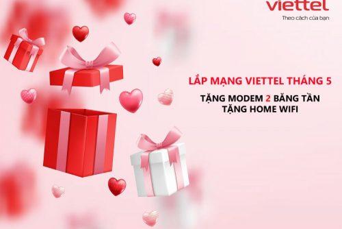 Lắp Mạng WiFi Internet Cáp Quang Viettel