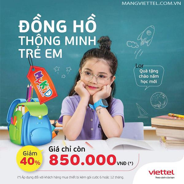 Đồng Hồ Thông Minh Mykid Viettel
